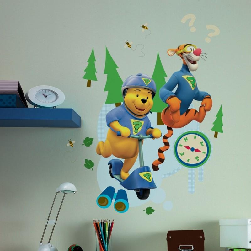 """Maxi Sticker """"Mes amis Tigrou et Winnie"""""""