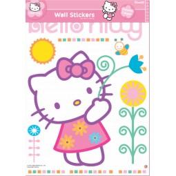 Mega sticker Hello Kitty Girly