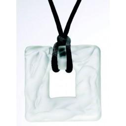 Collier pendentif carré