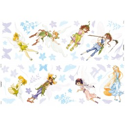 51 Stickers muraux Disney Fairies