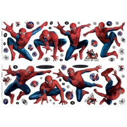 58 Stickers muraux Spider-Man