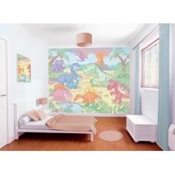 Walltastic Peintures murales Baby Dino World