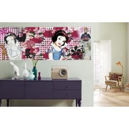 "Fresque murale Disney Blanche Neige ""charme"""