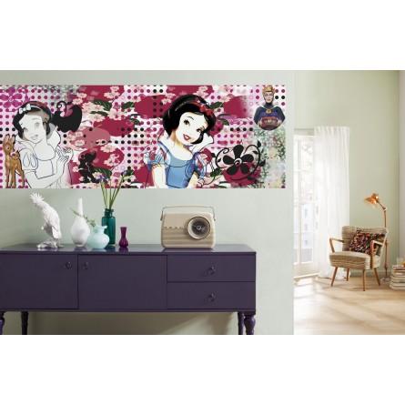 fresque murale disney blanche neige. Black Bedroom Furniture Sets. Home Design Ideas