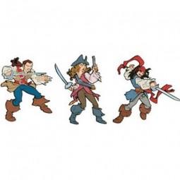 Elément en mousse Pirates des Caraïbes de Disney