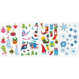 """Stickers muraux de Noêl """"Let it Snow"""""""