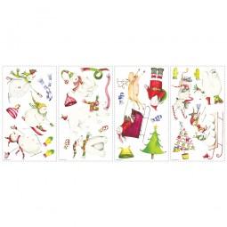 """Stickers muraux """"Vacances d'hiver"""""""