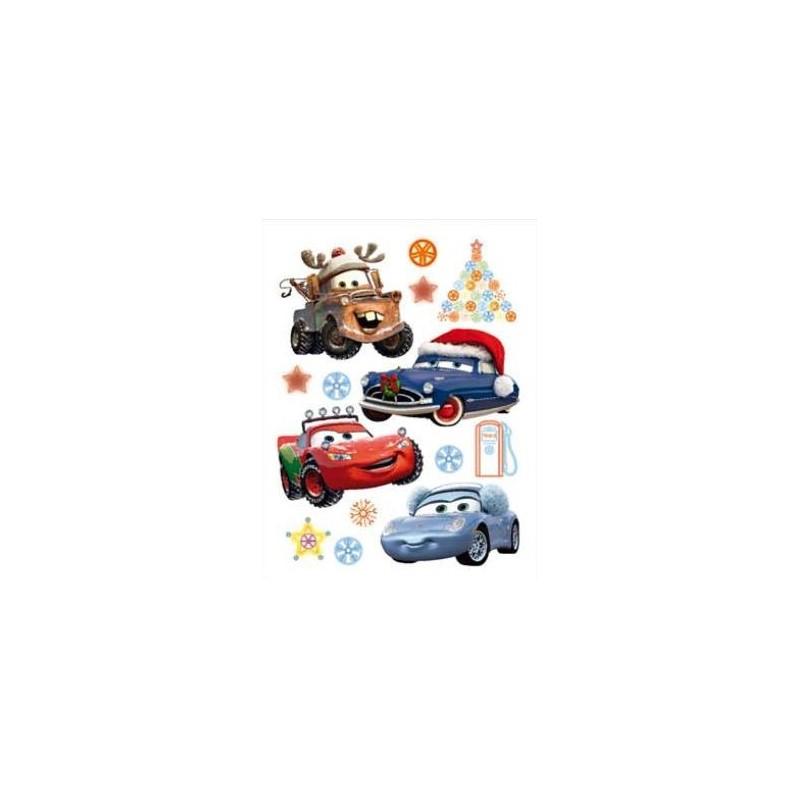 Maxi stickers Disney Cars Noël