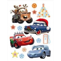 Maxi stickers Disney Cars Noël