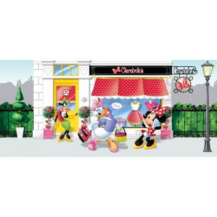 Fresque murale Disney Minnie, Daisy et Clarabelle Papier Peint Poster Géant