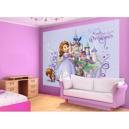 fresque murale princesse sofia de disney junior papier peint maxi poster. Black Bedroom Furniture Sets. Home Design Ideas