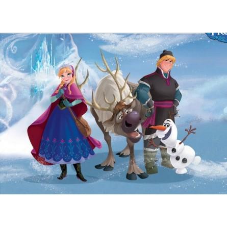 fresque murale la reine des neiges disney en papier peint poster g ant d co de r ve. Black Bedroom Furniture Sets. Home Design Ideas