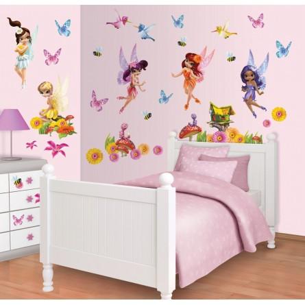 Disney Magical Fairies - Kit décoration chambre