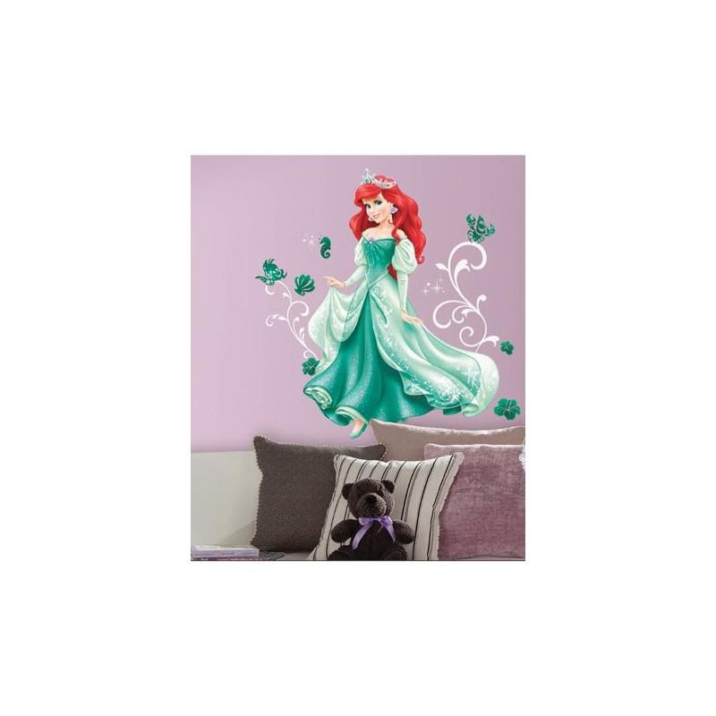 Stickers Géant Princesse Ariel Disney
