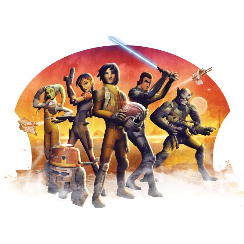 Fresque Star Wars Rebels papier peint