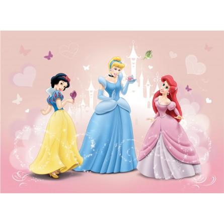 Fresque murale princesses disney blanche neige ariel et - La princesse blanche neige ...