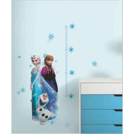 stickers toise la reine des neiges d co de r ve. Black Bedroom Furniture Sets. Home Design Ideas