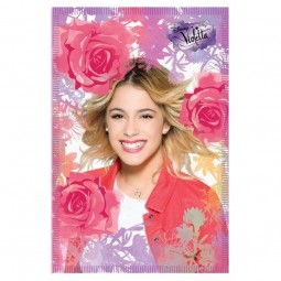 Couverture polaire Violetta rose