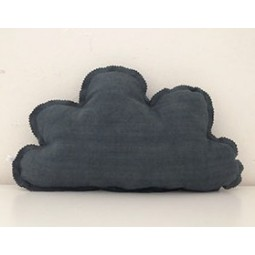 Coussin nuage anthracite