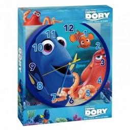 Horloge Murale bleue Dory et Némo