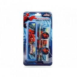 Set Papeterie trousse rigide et accessoires SpiderMan - Disney