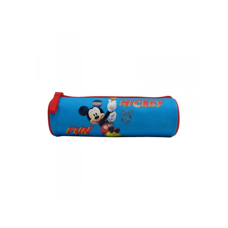 Trousse scolaire ronde Mickey
