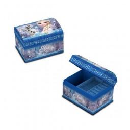Boite à Bijoux La Reine des Neiges Sisters Bleue - Disney