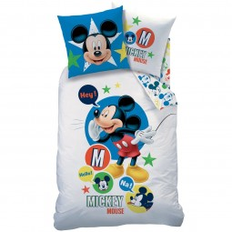 Parure de lit Mickey Mouse - Disney