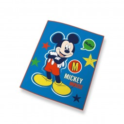 Couverture polaire Mickey Mouse Bleue - Disney