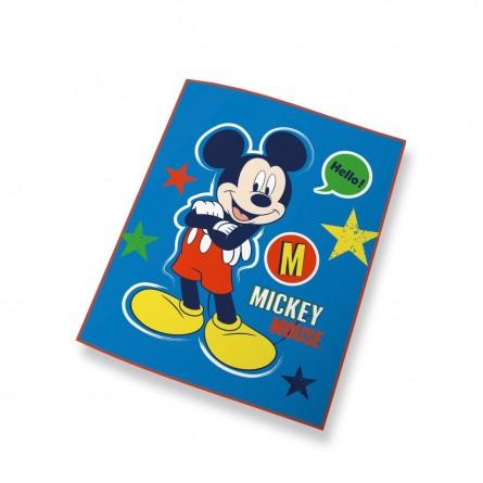 Couverture polaire Mickey Mouse Bleue - Disney