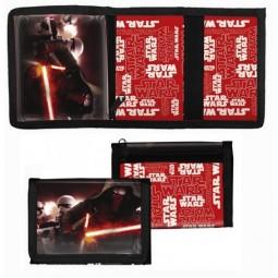 Porte monnaie plat Star Wars Noir