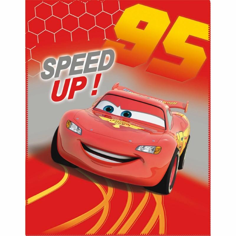 """Couverture Polaire Cars  """"Flash Mc Queen """" - Disney"""