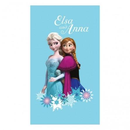 """Serviette de plage La Reine des Neiges """"Magic"""" - Elsa et Anna"""