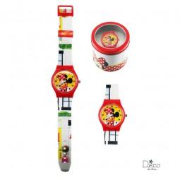 Montre analogique Minnie Rouge - Disney