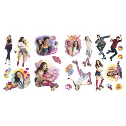 20 Stickers repositionnables Soy Luna - Disney