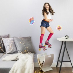 Stickers géant repositionnable Soy Luna - Disney