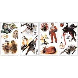 15 Stickers repositionnables Star Wars - Disney