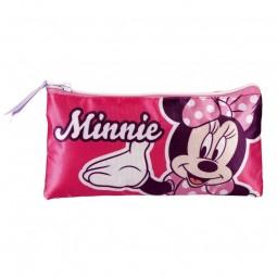 Trousse scolaire Double Minnie plate
