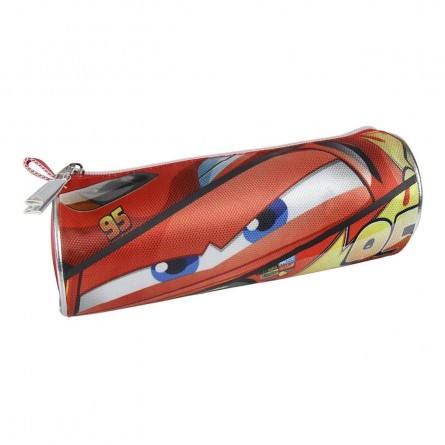 Trousse scolaire ronde Cars Lightning McQueen