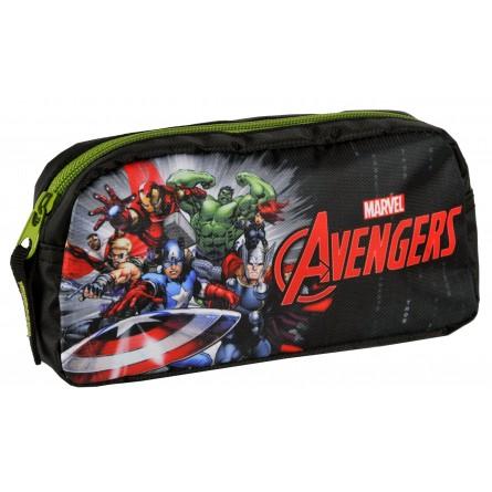 Trousse scolaire Avengers Noire - Marvel