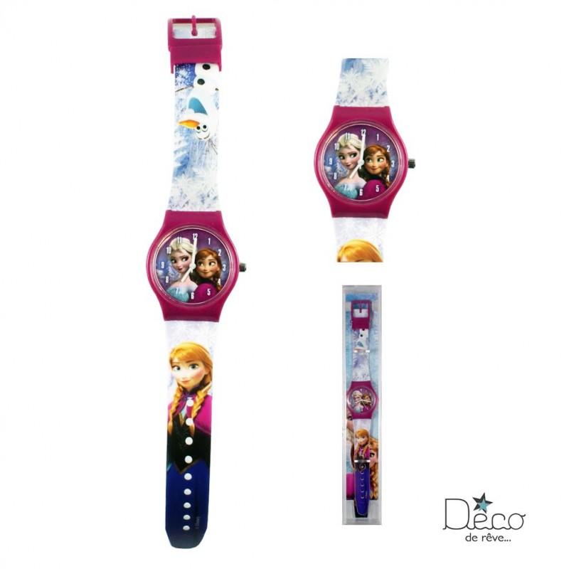 Montre analogique La reine des Neiges violette - Disney