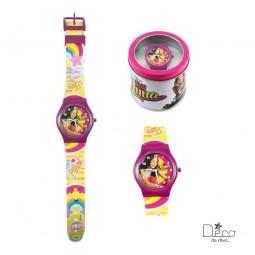 Montre analogique Soy Luna Violette - Disney