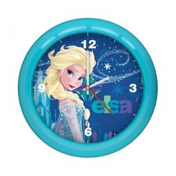 Horloge Murale La Reine des Neiges Bleue