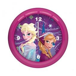 Horloge Murale La Reine des Neiges Rose