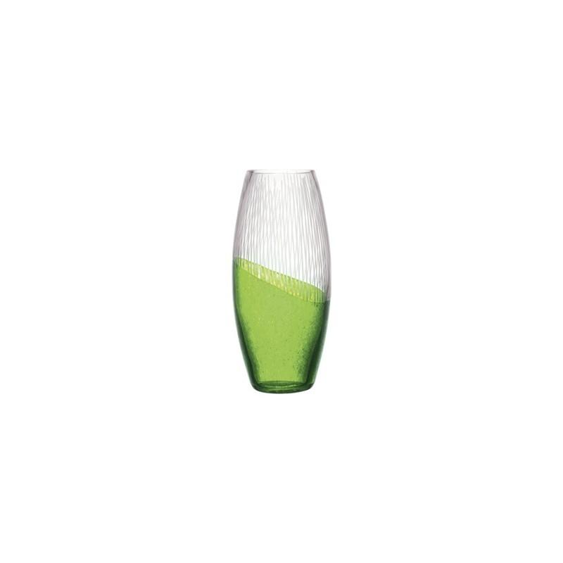 Vase en cristallin Eve vert
