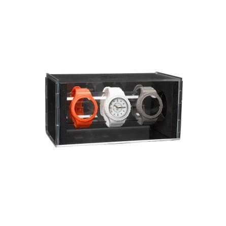 Montre modulable Coffret cadran blanc 3 bracelets