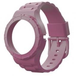 Bracelet rose pour montre modulable
