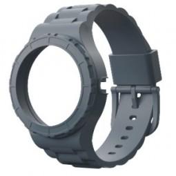Bracelet gris pour montre modulable