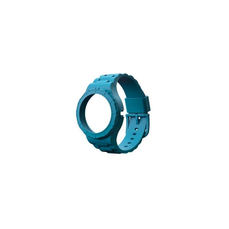 Bracelet bleu ciel pour montre modulable