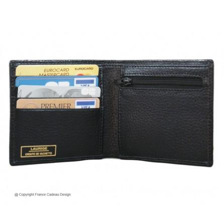 Laurige porte monnaie billets et cartes